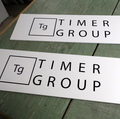 Mainoskyltti TIMER GROUP