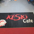 Mainosmatto Keski Cafe